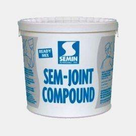 Шпаклевка для заделки швов ГКЛ Semin SEM-JOINT COMPOUND 25кг белая
