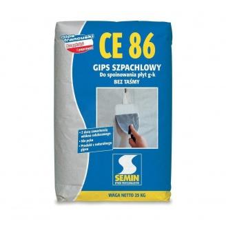 Шпаклевка для заделки швов ГКП Semin CE-78 25 кг белая