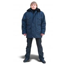 Куртка утепленная модельная ТК-Спецодяг плащевая ВО синяя
