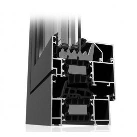 Алюминиевое окно Etem Е-75 39 мм белое