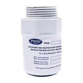 Устройство магнитной обработки воды РОСС УМОВ-С для стиральных машин 10 л/мин