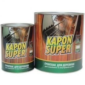 Лак грунтовочный для дерева Kapon Super 2,4 кг