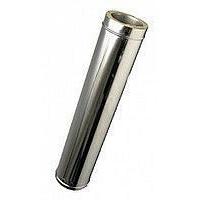 Труба-удлинитель с теплоизоляцией нерж/оц Версия Люкс L-0,5-1 м 1 мм D 100-300 мм