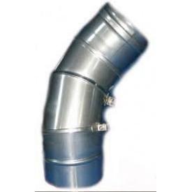Коліно 90 поворотне Версія Люкс 0,6 мм D 100-300 мм