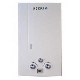 Газовый проточный водонагреватель ИСКРА 10 л/мин белый