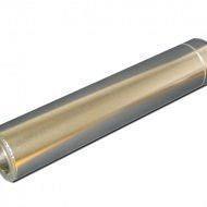 Труба утеплена нерж/оц довжина 1 м Fire Work 0,8 мм