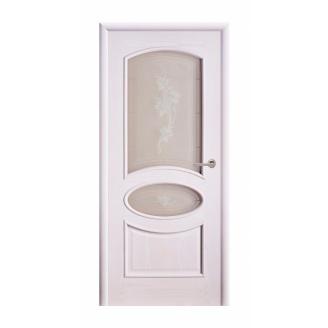 Дверь межкомнатная Двери Белоруссии Рим ПО 600х2000 мм ясень жемчуг
