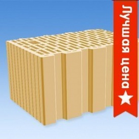 Керамический блок СБК Керамкомфорт М 100 380x230x215 мм