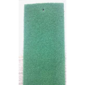 Выставочный ковролин на резиновой основе 2 м зеленый