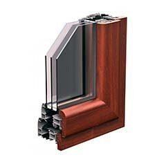 Алюмінієво-дерев'яні вікна