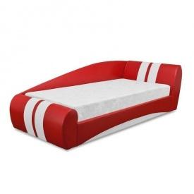 Кровать Вика Драйв 90 с матрасом и газовым механизмом 100x250х75 см