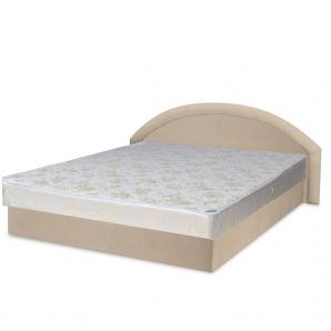 Кровать Вика Ривьера 140 с матрасом матрасная ткань 163х202х80 см