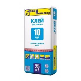 Смесь БудМайстер КЛЕЙ-10 25 кг
