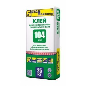 Суміш БудМайстер КЛЕЙ-104 25 кг