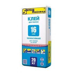 Суміш БудМайстер КЛЕЙ-16 20 кг