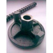Гайка для опалубки оцинкованная 100 мм