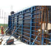 Опалубка вертикальная объемно-переставная стальная