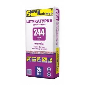 Штукатурка БудМайстер ТИНК-244 BEETLES-W короед 25 кг