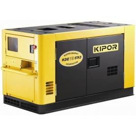 Дизельний однофазний генератор Kipor KDЕ16STA 12 кВт 154х84х92 см