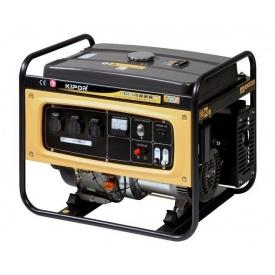Бензиновий трифазний генератор Kipor KGE6500E3 5,5 кВт 72х49х65 см