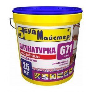 Штукатурка БудМайстер ТИНК-671 мозаичная 25 кг