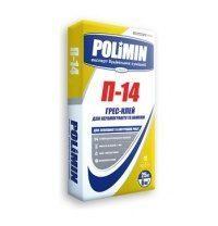 Клеевая смесь Polimin Грес-клей П-14 25 кг