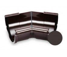 Кут зовнішній 135 градусів Galeco PVC 90/50 90 мм темно-коричневий
