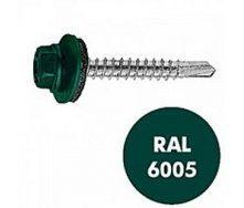 Саморез по металлу Gunnebo Info-Global 4,8х19 мм RAL 6005 250 шт