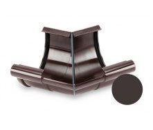 Кут внутрішній 135 градусів Galeco PVC 150/100 148 мм темно-коричневий
