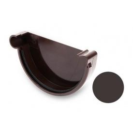 Заглушка ліва Galeco PVC 90/50 90 мм темно-коричневий