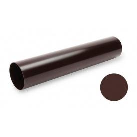 Водостічна труба Galeco PVC SP080 80х4000 мм шоколадно-коричневий