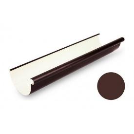 Ринва водостічна Galeco PVC 110/80 107х4000 мм шоколадно-коричневий