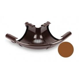 Кут зовнішній регульований 90-150 градусів Galeco PVC 130 132х220 мм мідний
