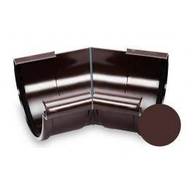Кут внутрішній 135 градусів Galeco PVC 130 132 мм шоколадно-коричневий