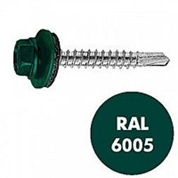 Саморез по металлу Wkret-met 4,8х19 мм RAL 6005 250 шт
