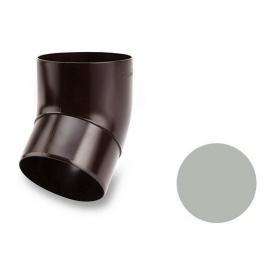 Коліно 45 градусів Galeco PVC 150/100 100 мм світло-сірий