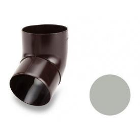 Коліно 67 градусів Galeco PVC 150/100 100 мм світло-сірий