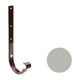 Кронштейн ринви металевий Galeco PVC 150/100 148х335 мм світло-сірий