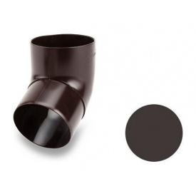 Коліно 67 градусів Galeco PVC 150/100 100 мм темно-коричневий