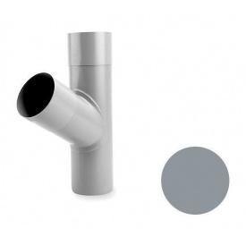 Трійник труби Galeco PVC 180/125 125х460 мм світло-сірий