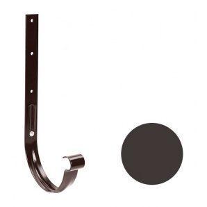 Кронштейн желоба металлический Galeco PVC 90/50 90х275 мм темно-коричневый