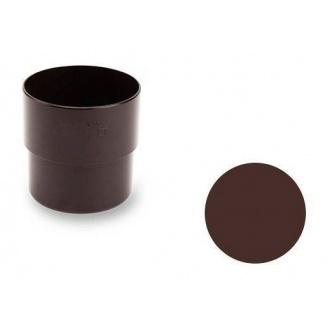 З'єднувальна муфта Galeco PVC 130/100 100х121 мм шоколадно-коричневий