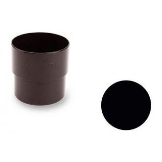 З'єднувальна муфта Galeco PVC 130/100 100х121 мм чорний
