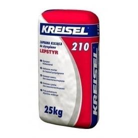 Клей KREISEL Styropor-Klebemortel 210 ЗИМА 25 кг