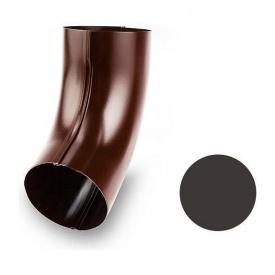 Коліно 60 градусів Galeco STAL SS100 100 мм темно-коричневий