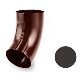 Коліно 60 градусів Galeco STAL 135/90 87 мм темно-коричневий