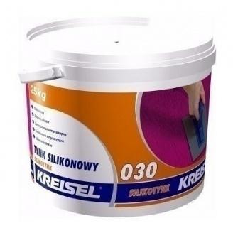 Штукатурка KREISEL Silikonputz 030 короед 3 мм 25 кг