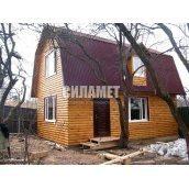 Будівництво дерев'яного будинку з бруса