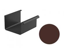 Желоб водосточный Galeco STAL 2 125/80 125х4000 мм шоколадно-коричневый