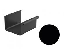Желоб водосточный Galeco STAL 2 125/80 125х4000 мм черный